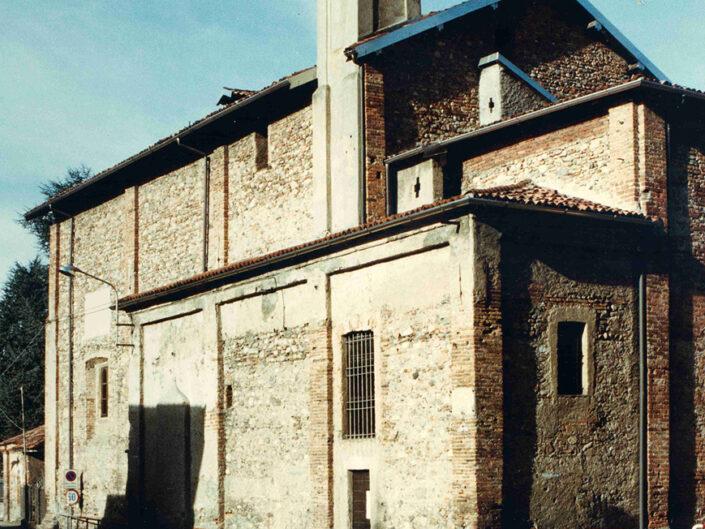 Fondo Afi - Castiglione Olona - Chiesa Madonna di campagna (Sec. XVII) - Foto Roberto Bosio - 1991