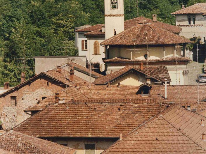 Fondo Afi - Castiglione Olona - Veduta del centro storico - Foto Claudio Argentiero - 1993
