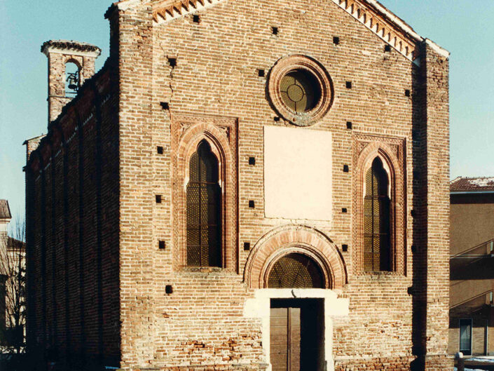 Fondo Afi - Cislago - Oratorio gotico ( Sec. XIV) - Foto Roberto Bosio - 1991