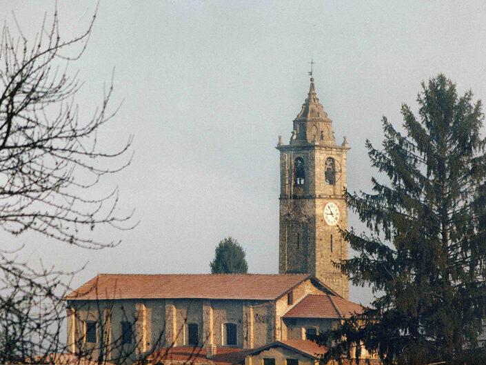 Fondo Afi - Corgeno - Chiesa romanica di San Giorgio - Foto Franco Margnini - 1991