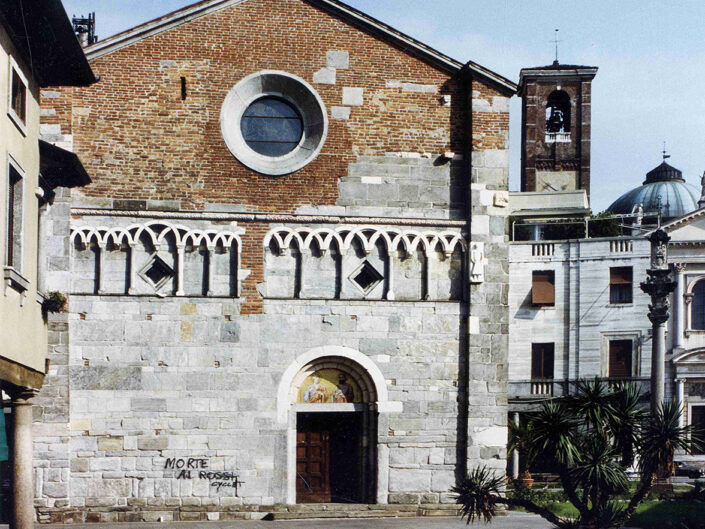 Fondo Afi - Gallarate - Chiesa di San Pietro ( Sec. XII) - Foto Roberto Bosio - 1991
