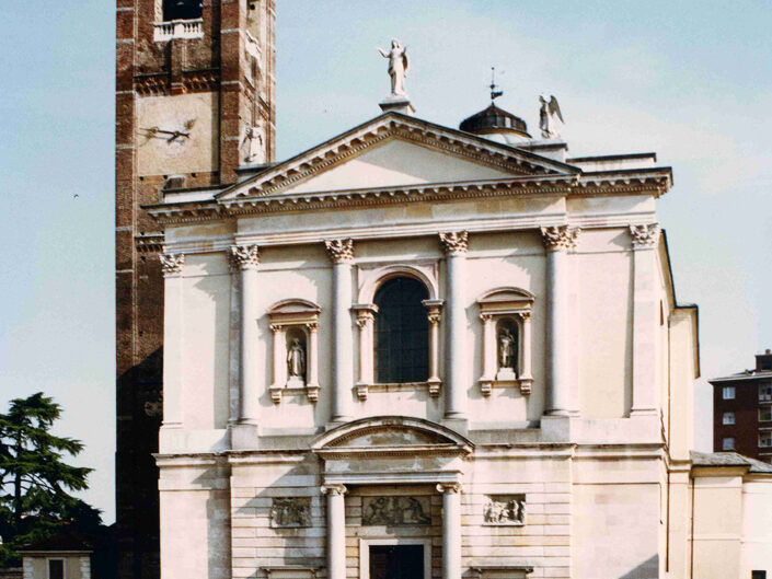 Fondo Afi - Gallarate - Chiesa prepositurale di Santa Maria Assunta (1856-1860) - Foto Roberto Bosio - 1991