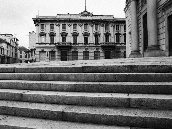 Fondo Afi - Gallarate - Palazzo Borghi Municipio - Foto Claudio Argentiero - 1999