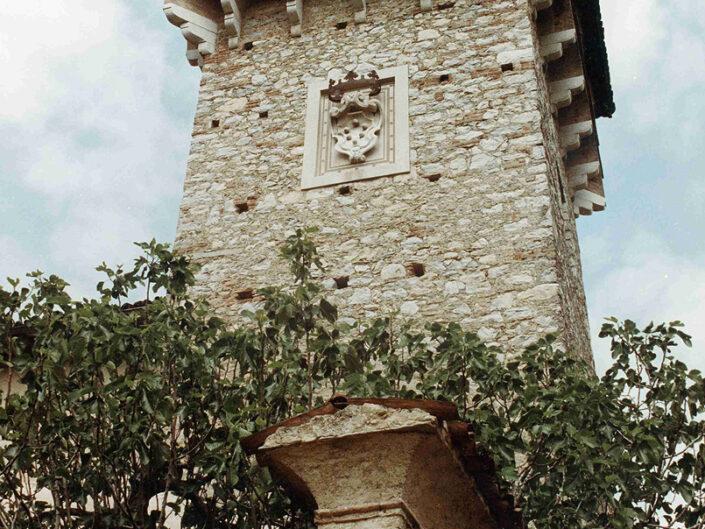 Fondo Afi - Induno Olona - Castello di Frascarolo (Sec. XVI) - Foto Saverio Fantacuzzi - 1991