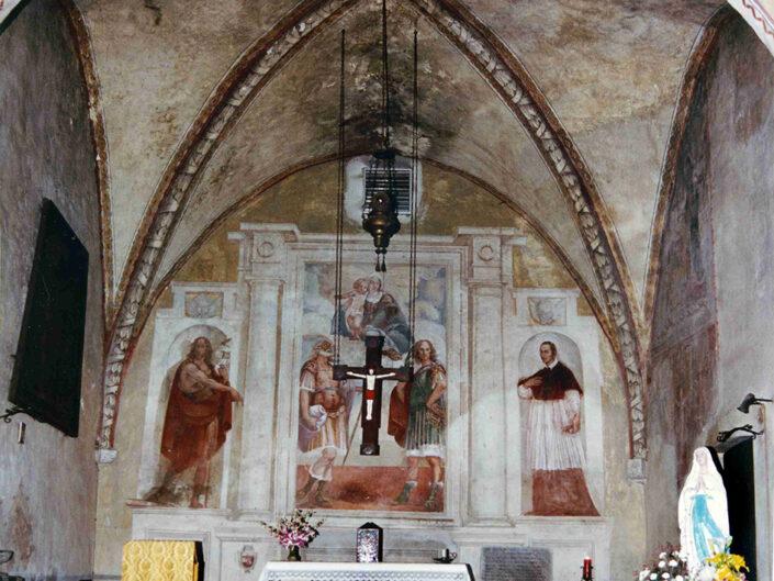 Fondo Afi - Leggiuno - Chiesa dei Santi Primo e Feliciano (Sec. IX -XI) - Foto Franco Rinaldin - 1990
