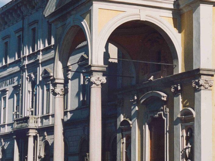 Fondo Afi - Luino - Santo Stefano - Pronao - Foto Roberto Bosio - 1991