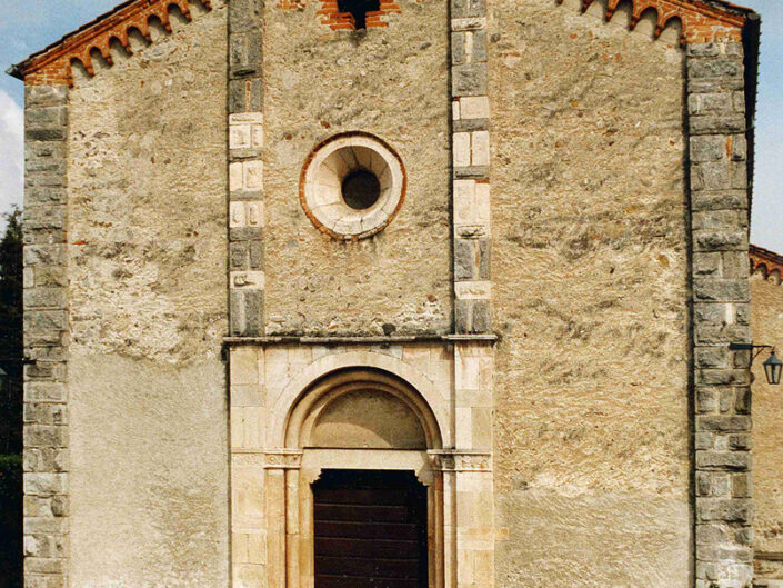Fondo Afi - Monate - Santa Maria della neve (Sec. XIV) - Foto Claudio Argentiero - 1991