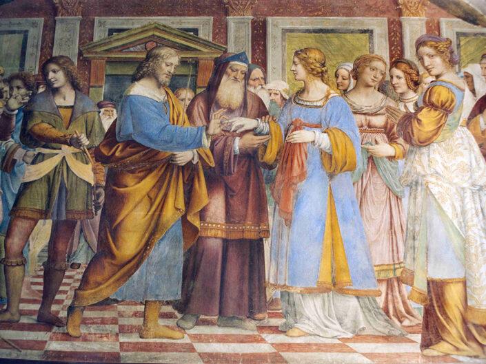 Fondo Afi - Saronno - Chiesa Vergine dei Miracoli - Affresco di Bernardino Luini - Foto Roberto Bosio - 1991