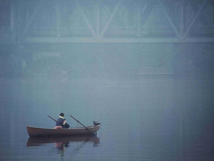 Fondo Afi - Sesto Calende - Il fiume Ticino - Foto Franco Margnini - 1993