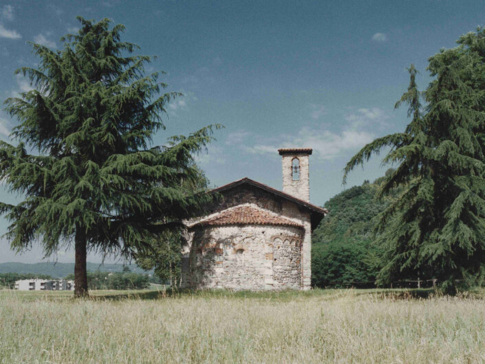 Fondo Afi - Sesto Calende - Oratorio di San Vincenzo ( Sec. XI) - Daniele Zuliani - 1992