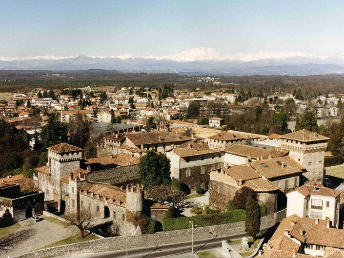 Fondo Afi - Somma Lombardo - Castello Visconteo ( 1183-1448 circa) - Foto Claudio Argentiero - 1991