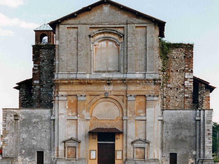 Fondo Afi - Somma Lombardo - Chiesa di San Rocco - Foto Claudio Argentiero - 1990