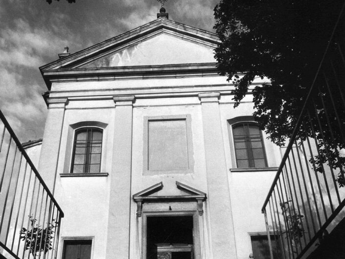 Fondo Afi- Somma Lombardo - Chiesa di San Vito - Foto Claudio Argentiero - 1989