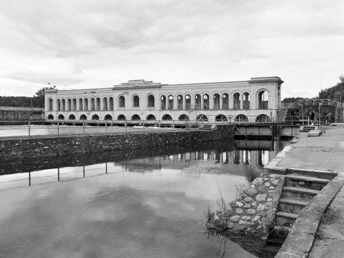 Fondo Afi - Somma Lombardo - Diga del Panperduto - Canale Villoresi - Foto Claudio Argentiero - 2002