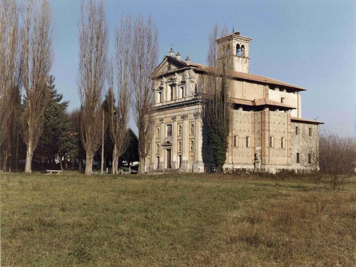 Fondo Afi - Somma Lombardo - Frazione Mezzana - Santuario Madonna della Ghianda (1582-1639) - Foto Claudio Argentiero - 1990