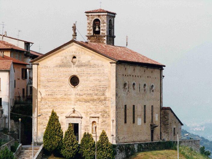 Fondo Afi - Viconago - Chiesa di San Giovanni Battista ( Sec. XVI) - 1991