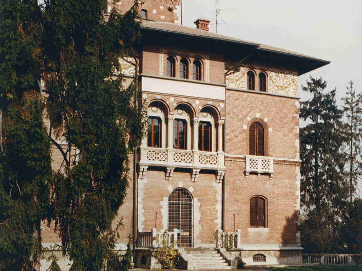 Fondo Afi - Samarate - Villa Montevecchio - Foto Roberto Bosio - 1992
