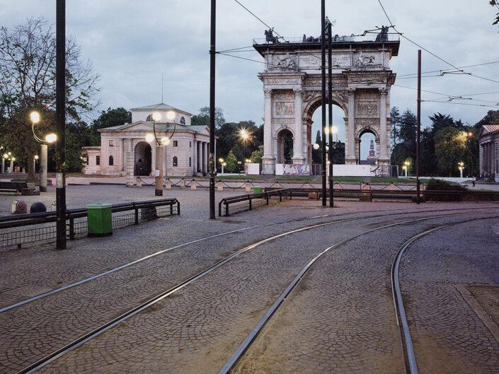 Fondo Claudio Argentiero - Il Sempione - Milano - Arco della Pace - 2005