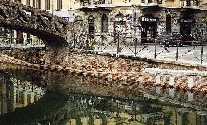 Fondo Claudio Argentiero - Milano - Il Naviglio Grande - 2006