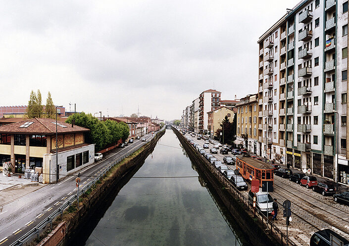 Fondo Claudio Argentiero - Milano - Naviglio Grande - 2008