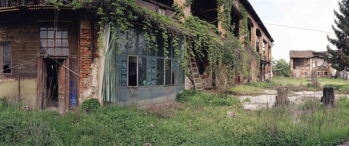 Fondo Claudio Argentiero - Milano - Nei pressi della Cascina Merlata - 2002