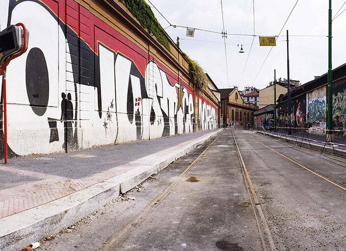 Fondo Claudio Argentiero - Milano - Nei pressi di via Sarpi - 2005