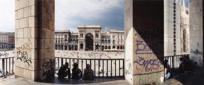 Fondo Claudio Argentiero - Milano - Piazza Duomo - 2005
