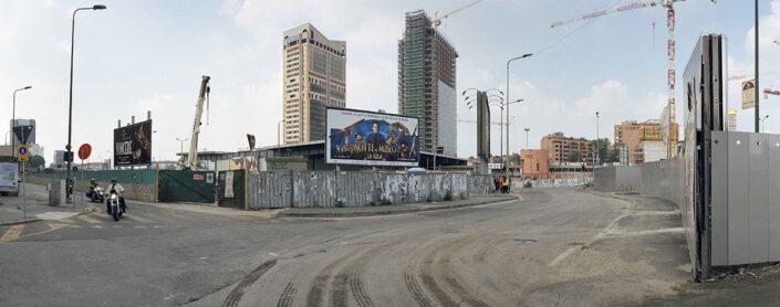 Fondo Claudio Argentiero - Milano - Stazione Porta Garibaldi, angolo corso Como - 2009