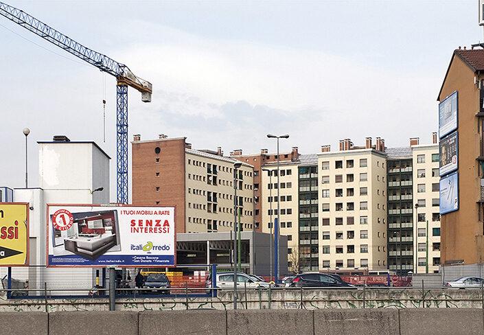 Fondo Claudio Argentiero - Milano - Uscita svincolo autostradale - 2008