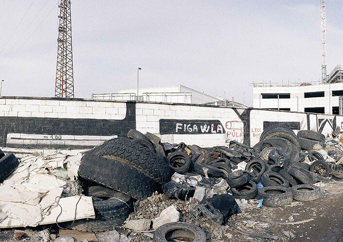 Fondo Claudio Argentiero - Milano - Via Stephenson al confine con la ferrovia - 2003