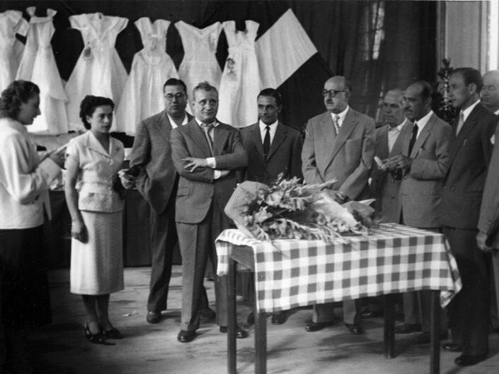 Fondo Giusy Rabolini - Album di famiglia - Castellanza - Cotonificio Cantoni - 1953