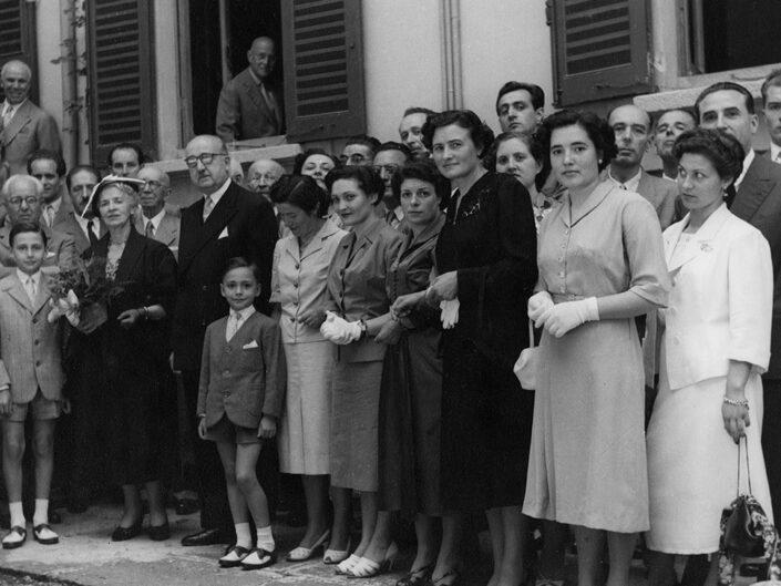 Fondo Giusy Rabolini - Album di famiglia - 5 luglio 1953