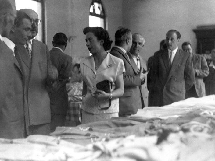 Fondo Giusy Rabolini - Album di famiglia - Castellanza -Cotonificio Cantoni - 1953