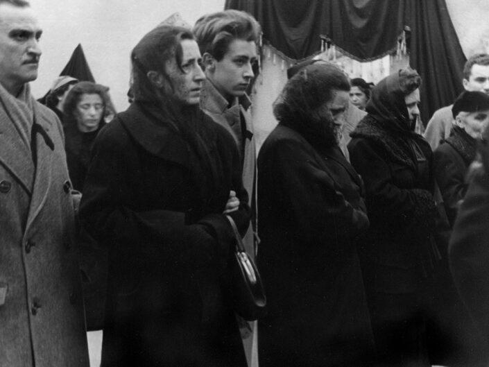 Fondo Giusy Rabolini - Album di famiglia - Funerale