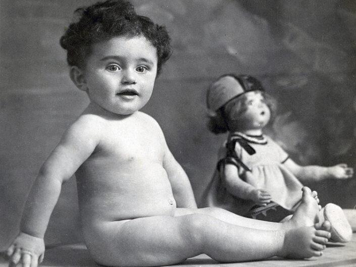Fondo Giusy Rabolini - Album di famiglia - Il piccolo Giacomino