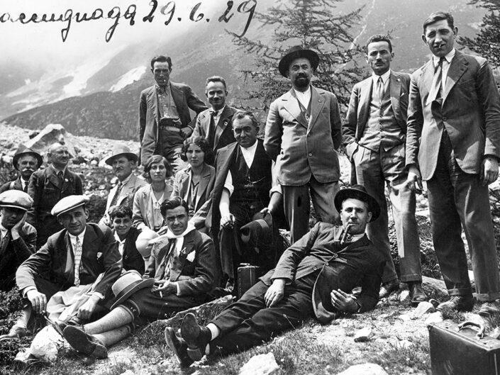 Fondo Giusy Rabolini - Album di famiglia - Macugnaga - 1929