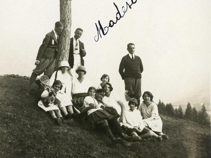 Fondo Giusy Rabolini - Album di famiglia - Madesimo - 1922