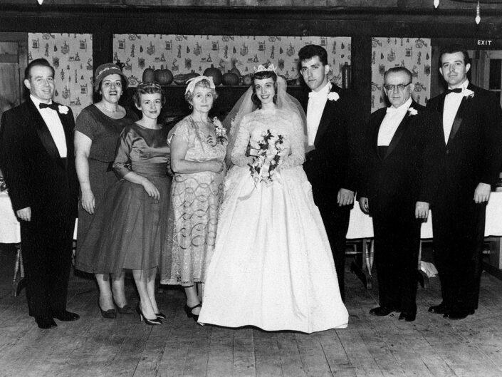 Fondo Giusy Rabolini - Album di famiglia - Matrimonio - 1958
