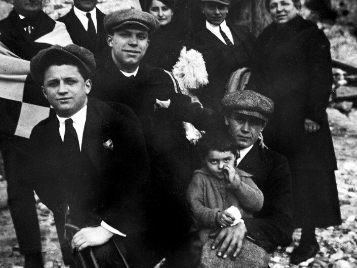 Fondo Giusy Rabolini - Album di famiglia - Stresa - 1922