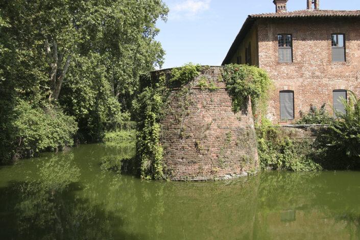 Fondo Roberto Bosio - Parco Agricolo Sud Milano - Peschiera Borromeo - Castello Borromeo - Agosto 2006
