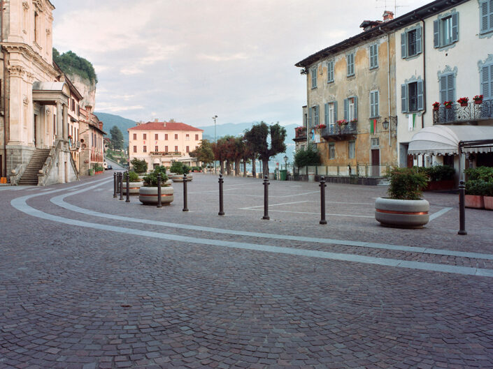 Fondo Roberto Bosio - Il Sempione -Arona - Borgo storico - Agosto 2002