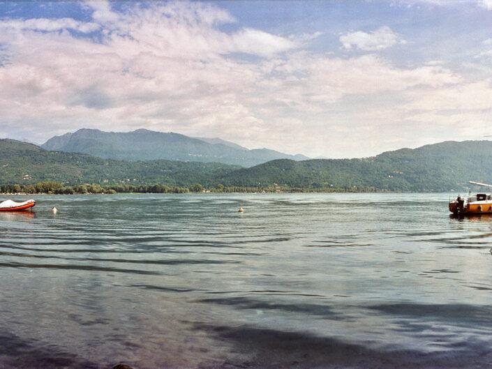 Fondo Roberto Bosio - Il Sempione - Feriolo - Veduta sul lago - Agosto 2002
