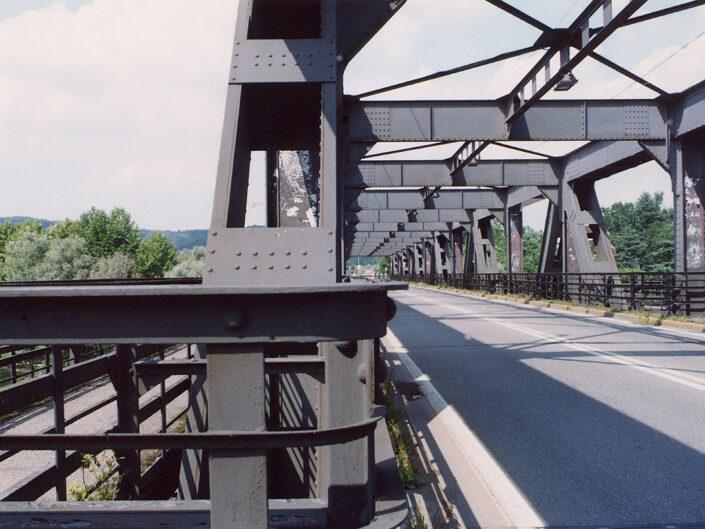Fondo Roberto Bosio - Il Sempione - Sesto Calende - Ponte sul Ticino, confine Lombardia Piemonte - 2004