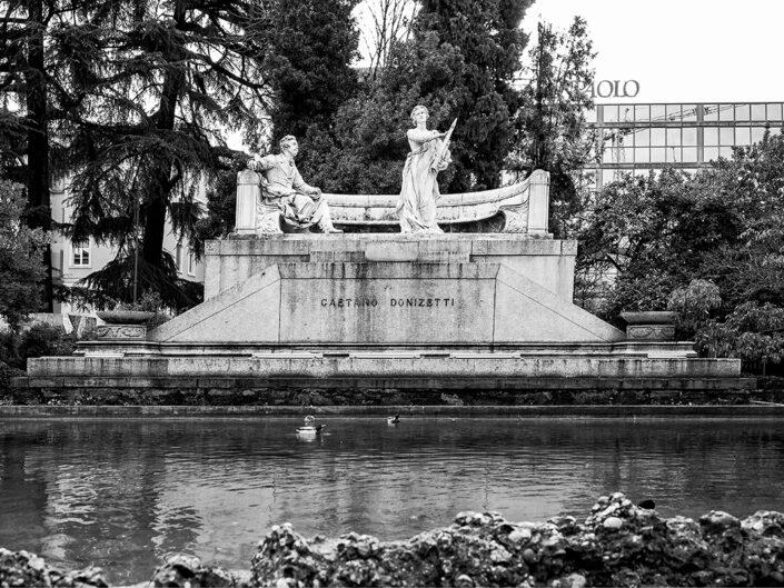 Fondo Simone Vivaldo - Bergamo - Monumento a Gaetano Donizetti - 2021